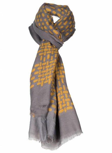 Sjaal Sue grijs