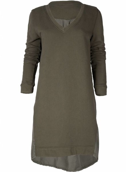 Rebelz Collection Sweater dress Hazel army