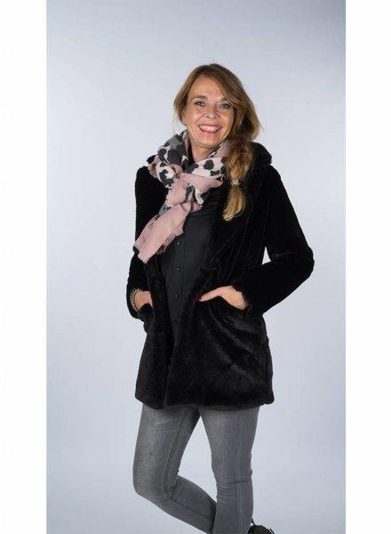 Gemma Ricceri Fake Fur Teddy zwart