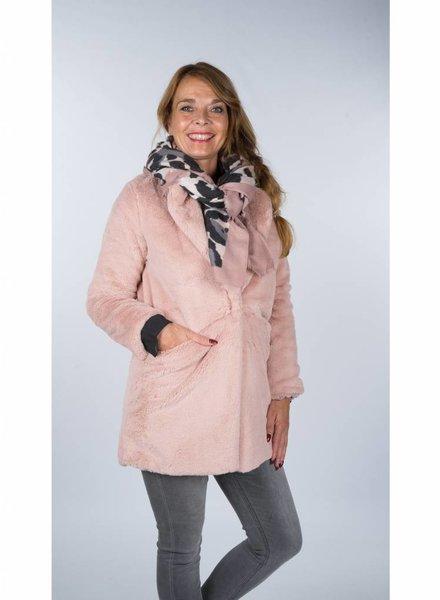 Gemma Ricceri Fake Fur Teddy roze