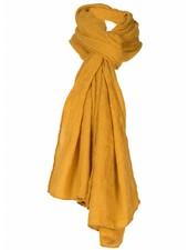 Sjaal Emma okergeel