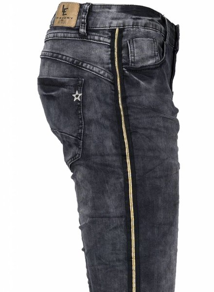 Lexxury Jogging jeans Paula zwart