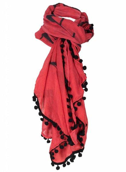 Sjaal Rox rood