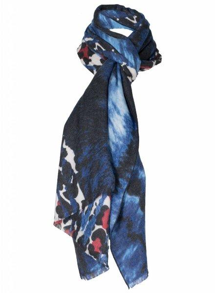 Sjaal Tanja blauw