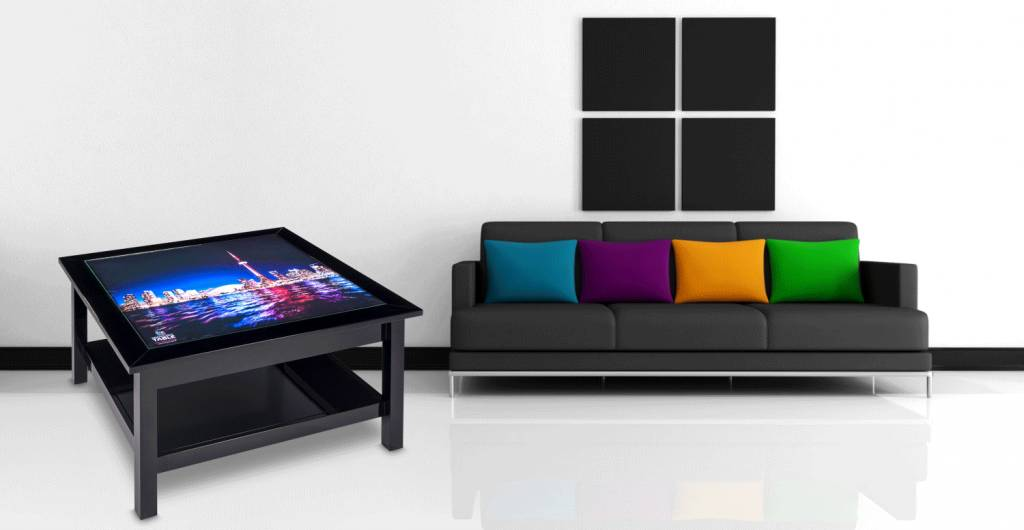led leuchttische couchtische aus holz mit hinterleuchteten bildern von dreamlight table design. Black Bedroom Furniture Sets. Home Design Ideas