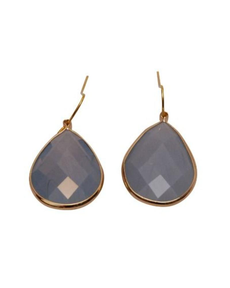 Jozemiek ® Dare to be Fabulous earring Opal blue - Copy