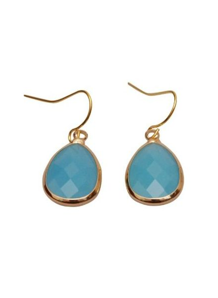 Dare to be Fabulous Teardrop Aqua Blue