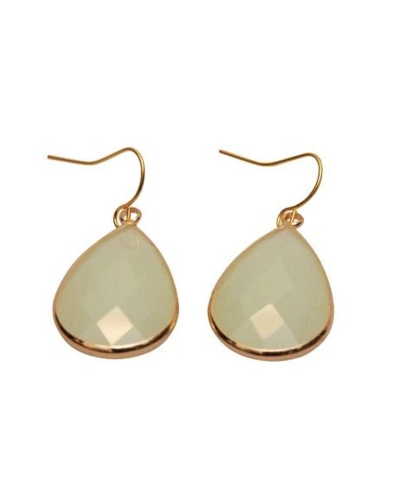 Dare to be Fabulous earring XL Ice Blue