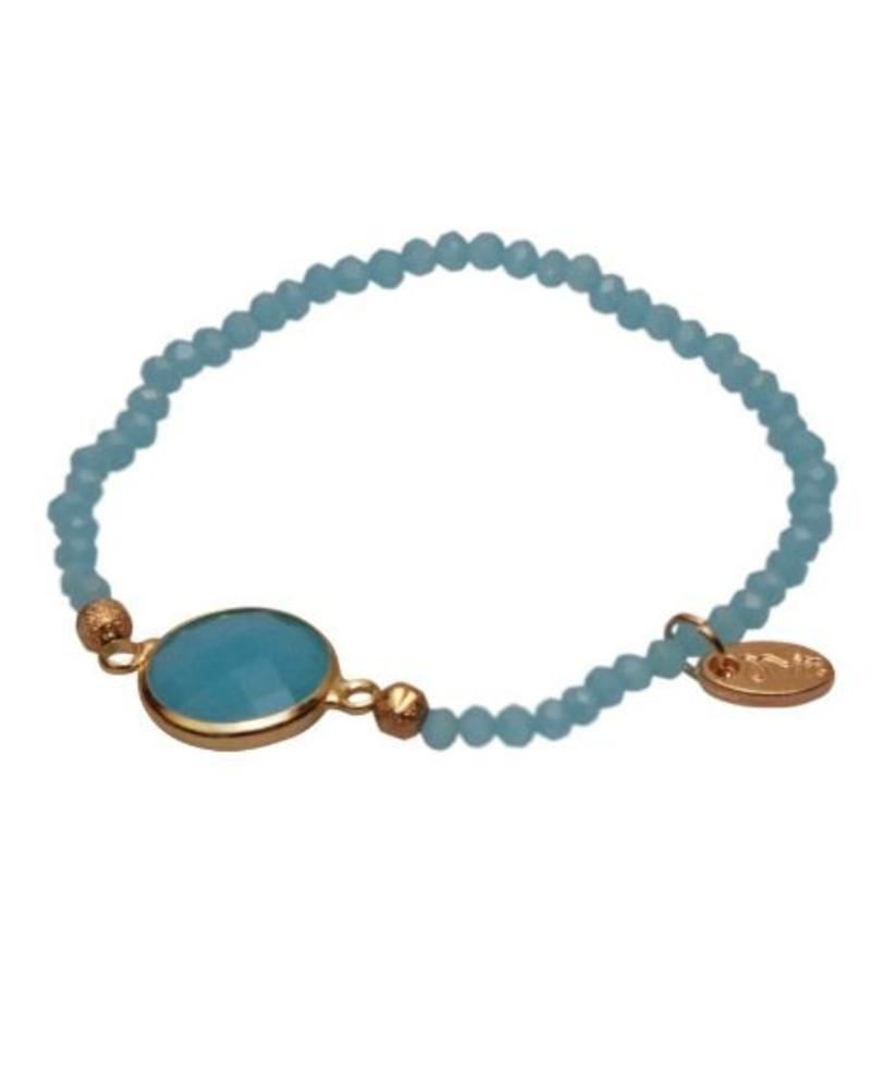 Embrace Cristal stone Light Blue
