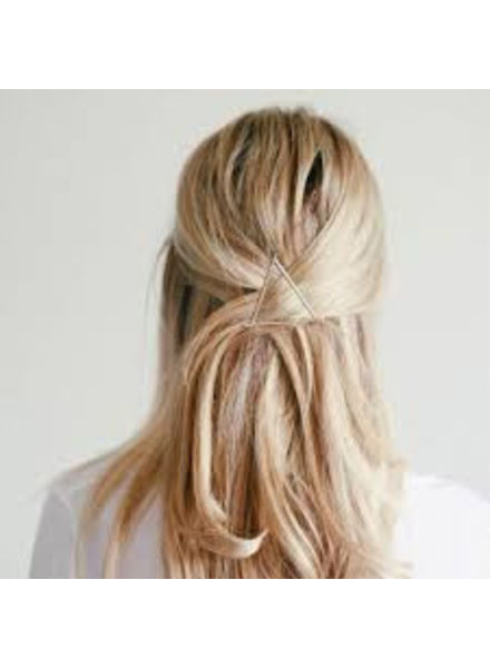 Jozemiek ® Minimalistische haarspeld driehoek