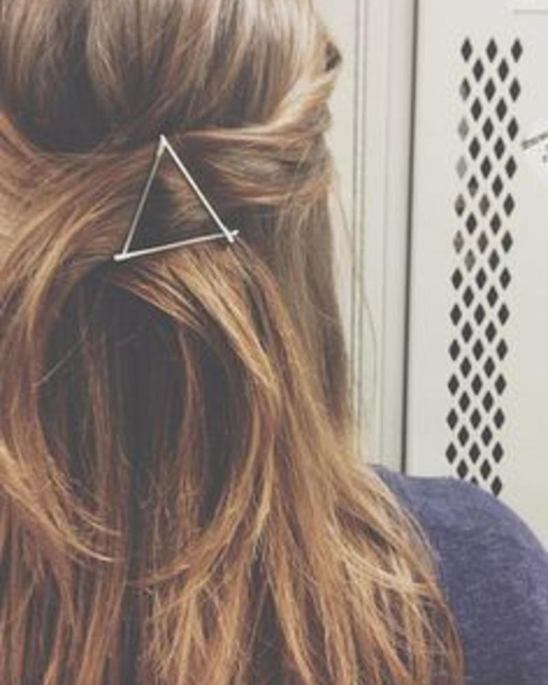 Jozemiek ® Hairclip triangle