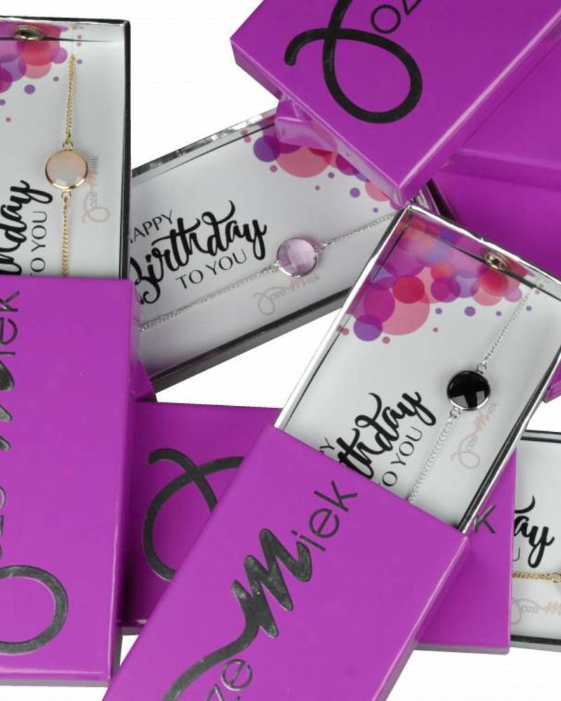 Jozemiek ® Happy birthday! bracelet