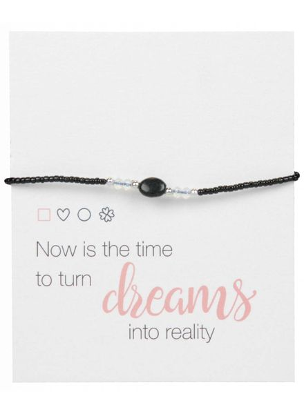 Jozemiek ® Jozemiek Silver Bead Bracelet Open Square - Copy - Copy - Copy - Copy