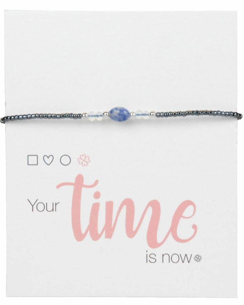 Jozemiek ® Jozemiek Naturel Stone Bracelet Blue l LIMITED EDITION