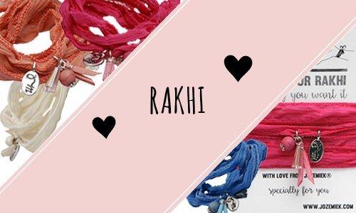 Rakhi by Jozemiek Silk wrapbracelets