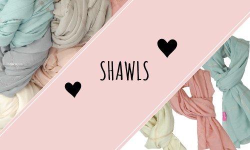 Shawls & Poncho's