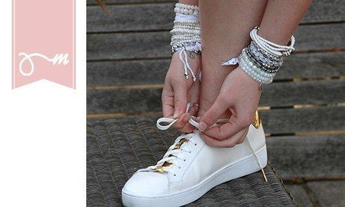 Embrace glaskralen armbandjes