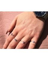 Jozemiek ® initial Ring silver Jozemiek