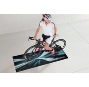 Tapis protection sol pour bicyclette Trendy