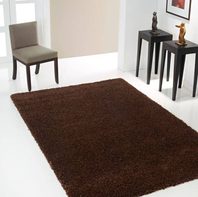 Tapis Brun 224 Long Poil Onlinemattenshop Be