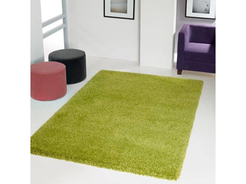 tapis poils longs vert. Black Bedroom Furniture Sets. Home Design Ideas