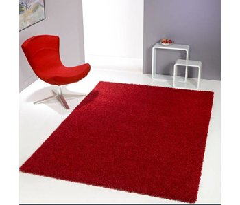 Rood tapijt hoogpolig