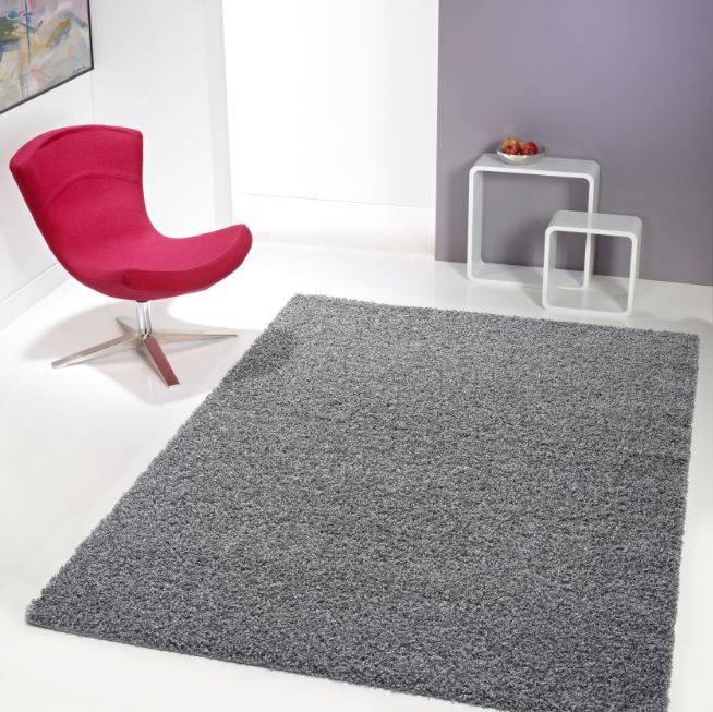 tapis shaggy gris. Black Bedroom Furniture Sets. Home Design Ideas