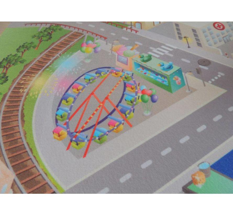 Speelmat stadsverkeer