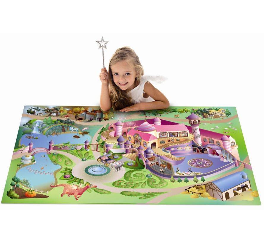 Speelmat prinsessen kasteel