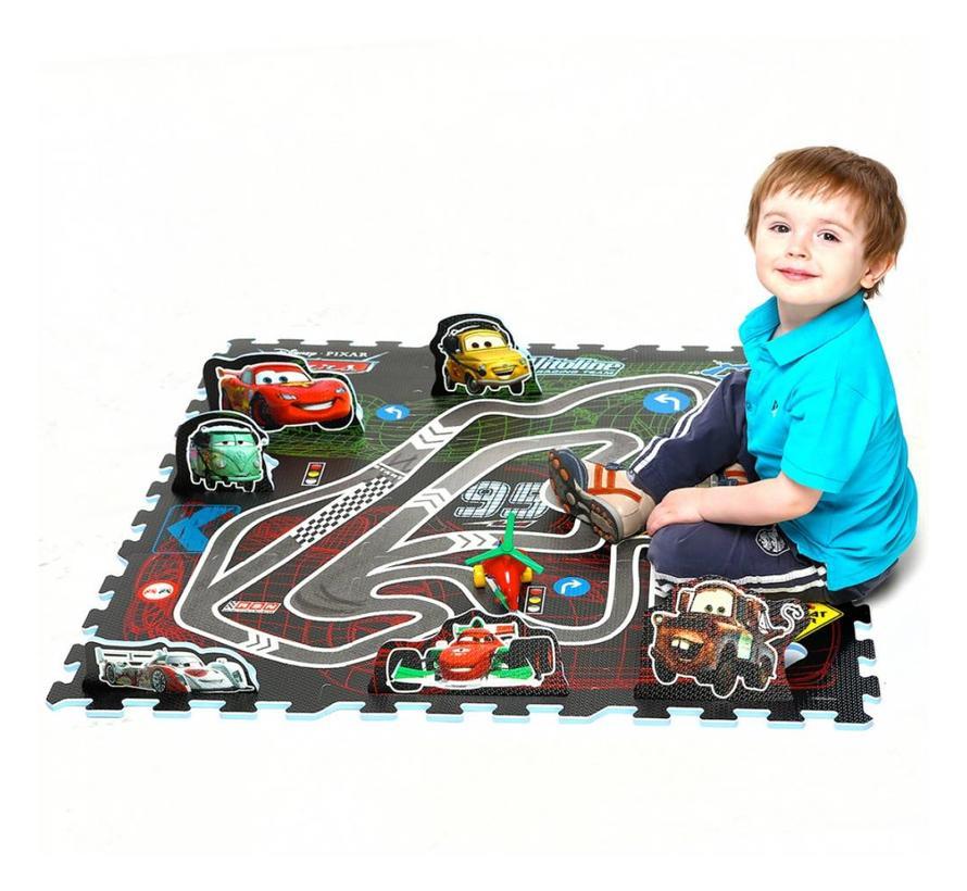 Tapis Puzzle 9 dalles Cars