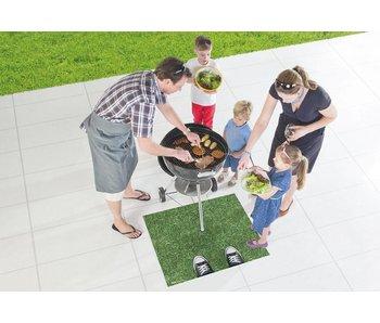 BBQ-mat Gras met voeten
