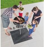 Tapis de protection de sol pour BBQ