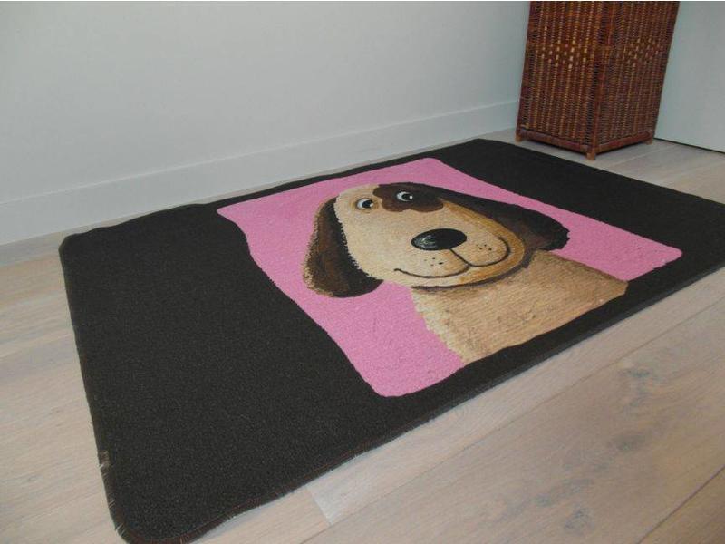 Tapis avec chien pour chambre enfant