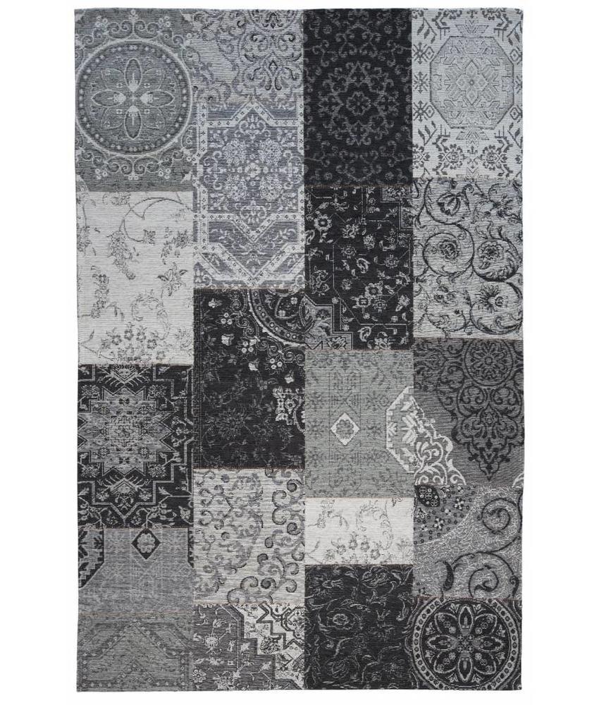 Grijs tapijt vintage look