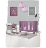 Tapis vintage pour chambre bébé