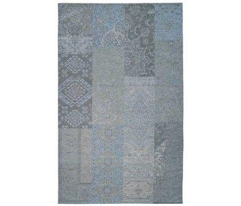 Retro tapijt vintage blauw