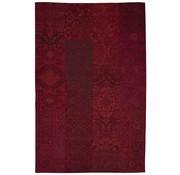 Vintage tapijt rood