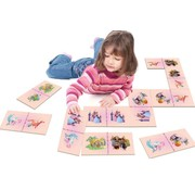 Tapis jeu de dominos princesses