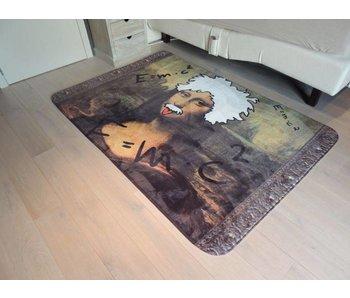 Grappig tapijt kinderkamer