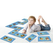 Tapis jeu de dominos pirates
