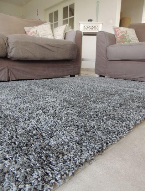 grijs tapijt hoogpolig - Onlinemattenshop.be