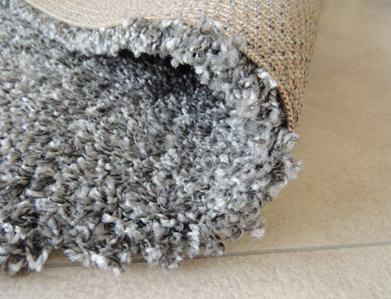 Tapis shaggy gris - Tapis contemporain pas cher ...