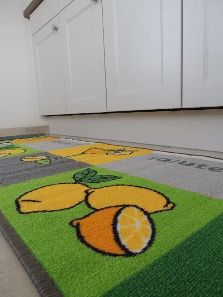 Keuken Tapijt Loper : Grote kleurrijke loper voor de vloer van de keuken
