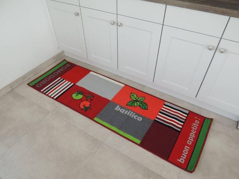 Grote kleurrijke wasbare loper voor de keuken 57x180cm