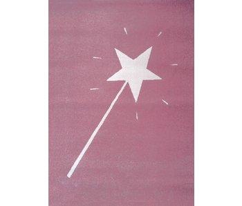 Roze tapijt voor babykamer