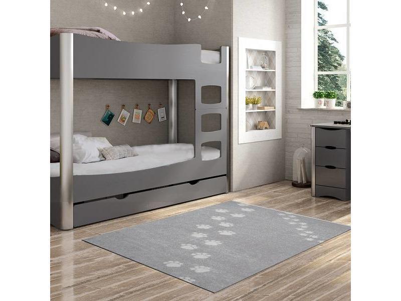 Grijs tapijt slaapkamer kind onlinemattenshop.be