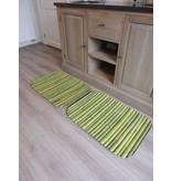 tapis de bain imprimé avec dessin bambou