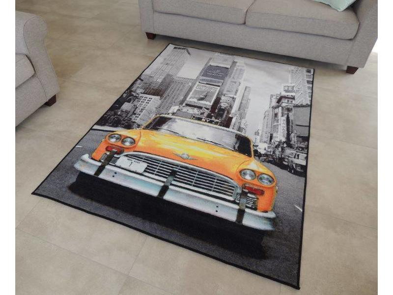 Tapis trendy for Tapis chambre new york