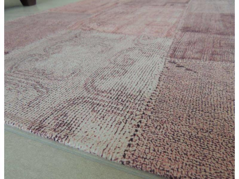 Roze vintage tapijt - Onlinemattenshop.be