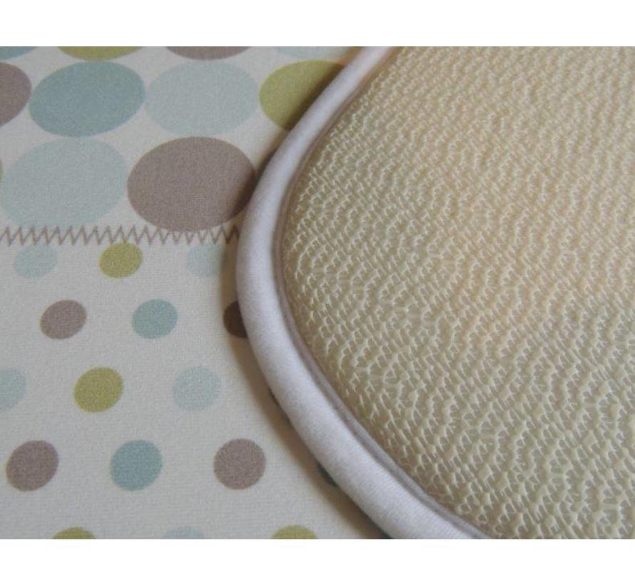 tapis te bain en dessin patchwork